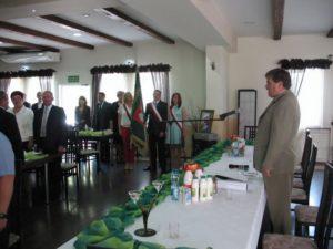IV Powiatowy Zjazd Delegatów PSL w Sieradzu