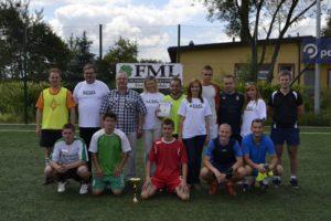 Turniej piłki nożnej w Charłupi Małej