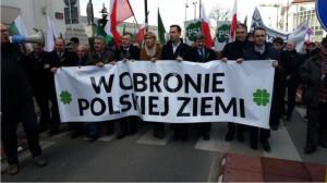 W obronie polskiej ziemi