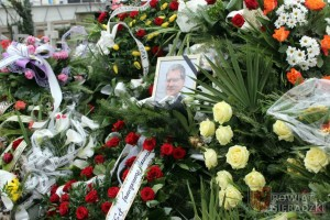 Ostatnie pożegnanie Dariusza Olejnika
