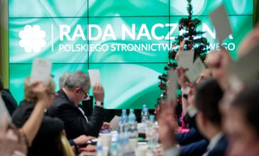Rada Naczelna PSL o kryzysie w Sejmie