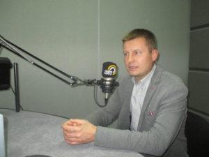 Wójt Woźniak w Naszym Radiu i Radiu Łódź