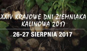 Krajowe Dni Ziemniaka 2017 – zapowiedź