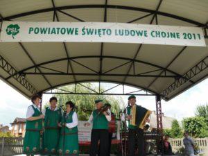 Powiatowe Święto Ludowe Chojne 2011