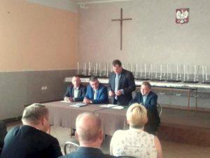 Spotkanie ludowców z gminy Brzeźnio