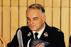 Waldemar Pawlak pierwszym strażakiem po raz szósty