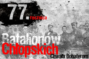 77. rocznica powołania Batalionów Chłopskich