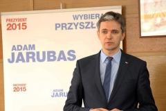 Adam Jarubas w Sieradzu