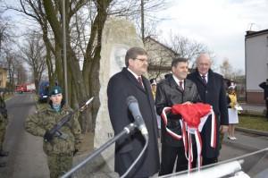 Odsłonięcie pomnika Witosa w Sieradzu - 24.11.2012
